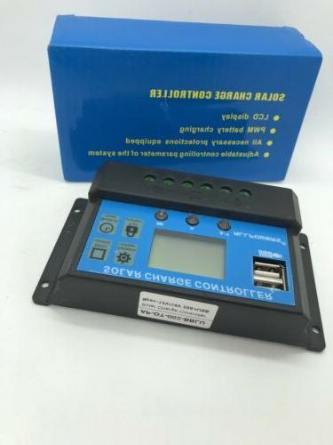 ALLPOWERS 20A Solar Controller Solar Panel Battery Intelligent Regula...
