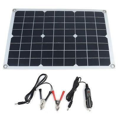 20W Battery Solar USB Home Car Charger
