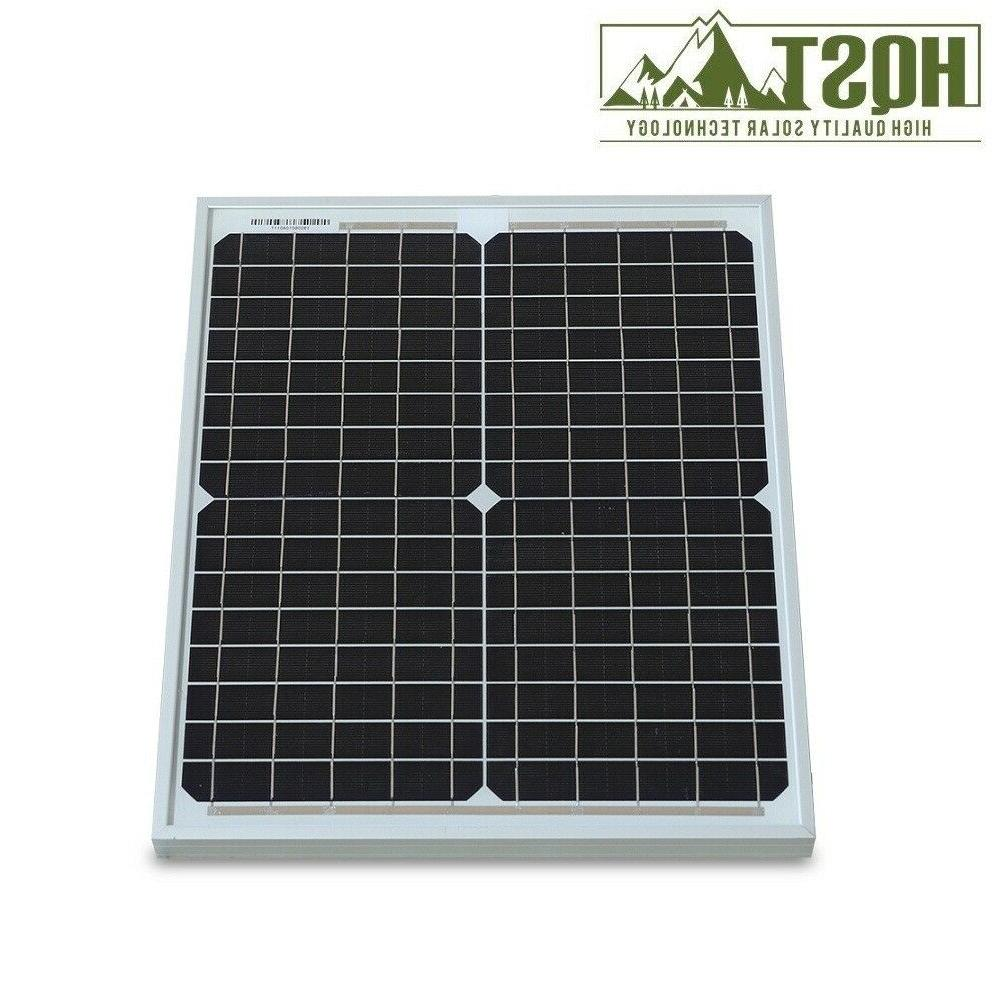 HQST 20W Solar Panel 12 Off Power