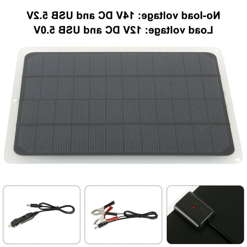 Solar Charge Kit Maintainer Car