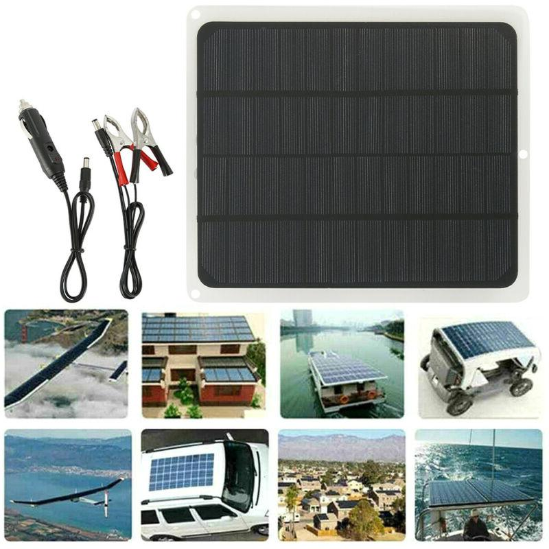 Solar Charge Battery Kit Maintainer Car