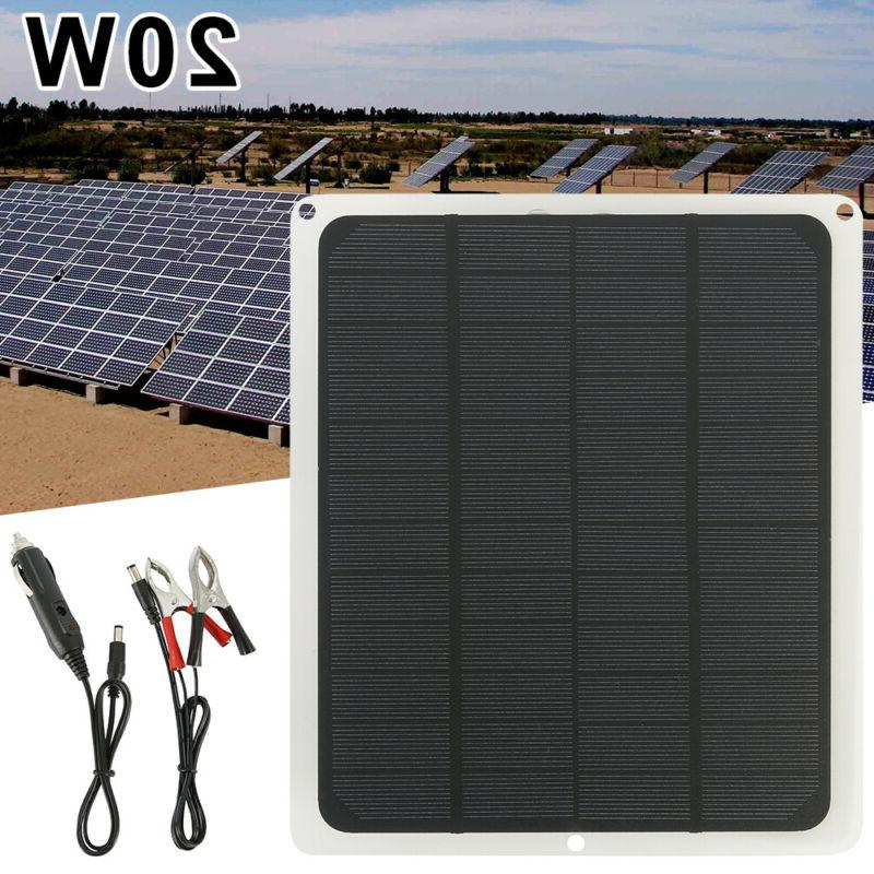 solar panel 12v trickle charge battery charger