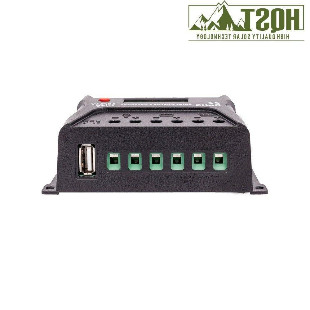 20W 30W 12V Panel + Controller Bundle Watt Battery Charger