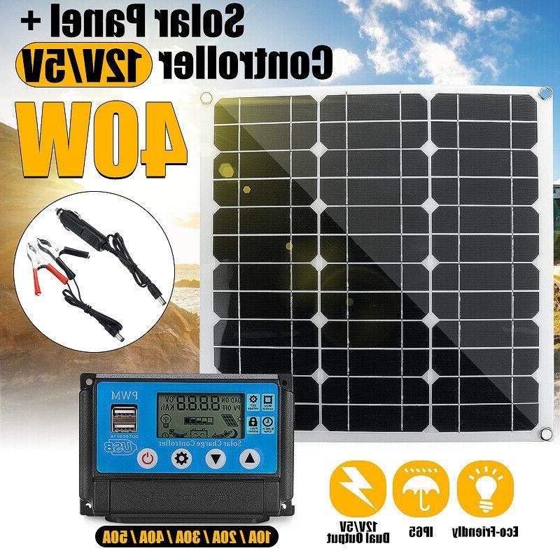 20w 30w 40w solar power panel controller