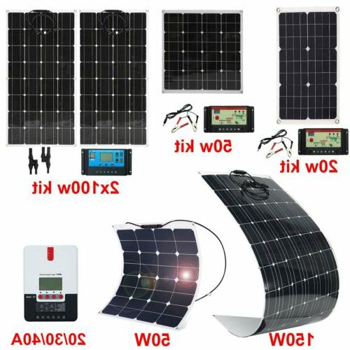 20W 200W Mono Flexible Panel RV Boat B2