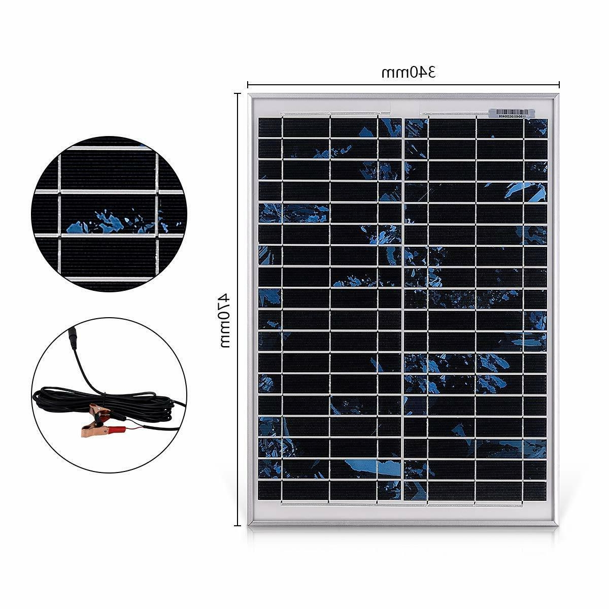 20W Solar Panel a 5m for Motorhome, Caravan