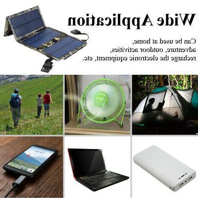 20W USB Folding Camping Hiking