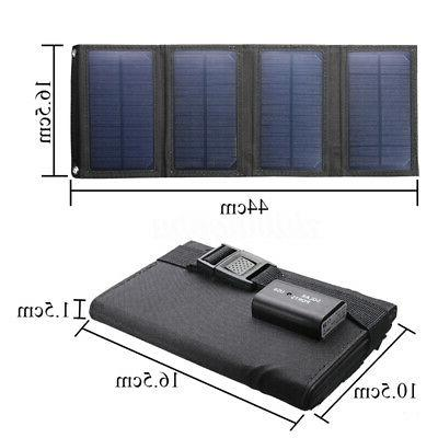 20W Panel Folding Power Outdoor Camping Hiking
