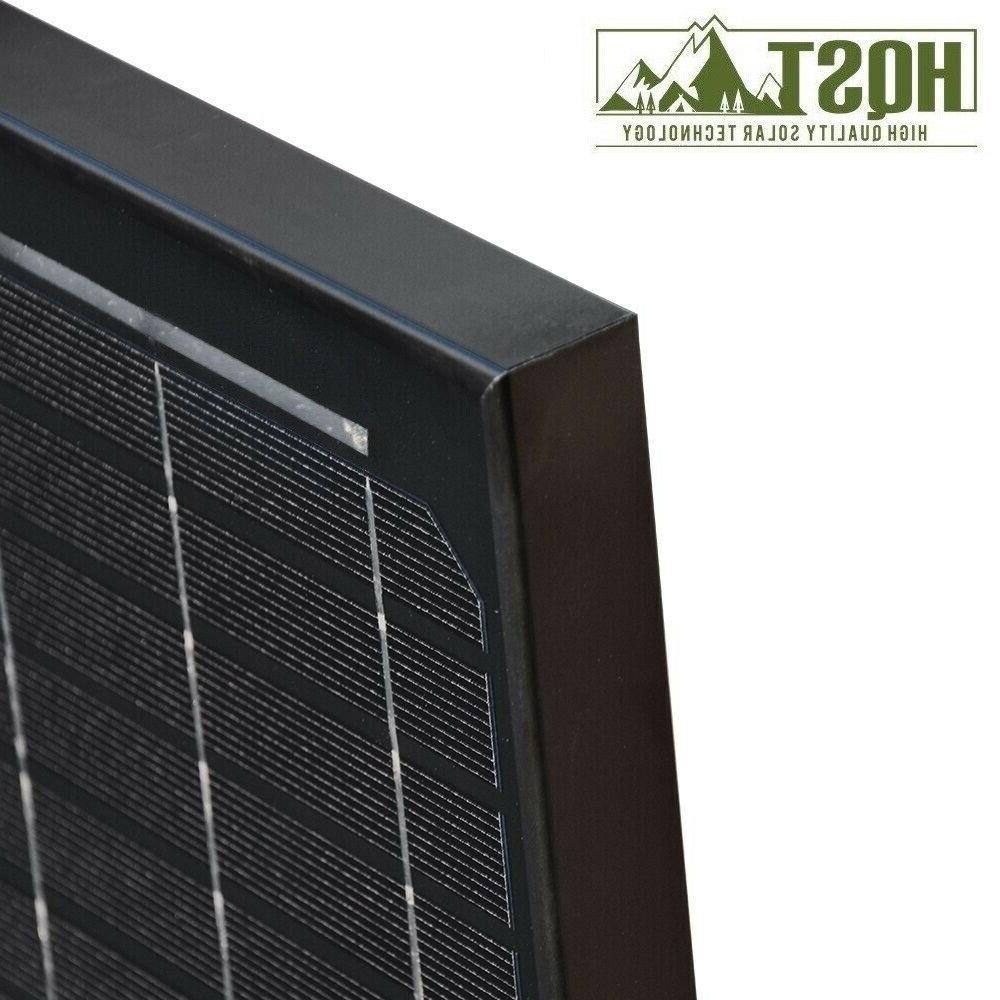 HQST Solar Panel 12V for Boat