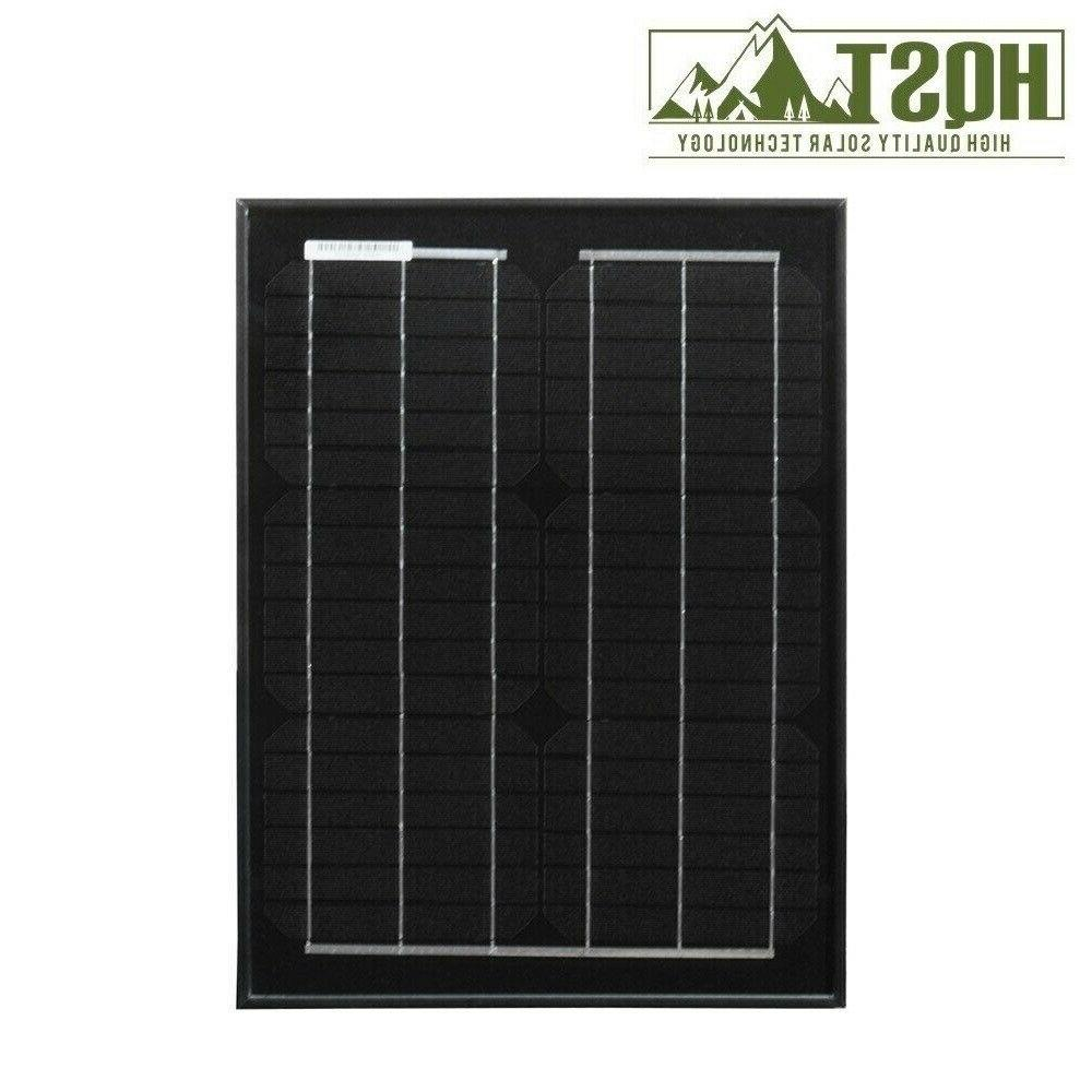 HQST 20W Watt Mono Solar Panel Off Grid PV for Caravan RV