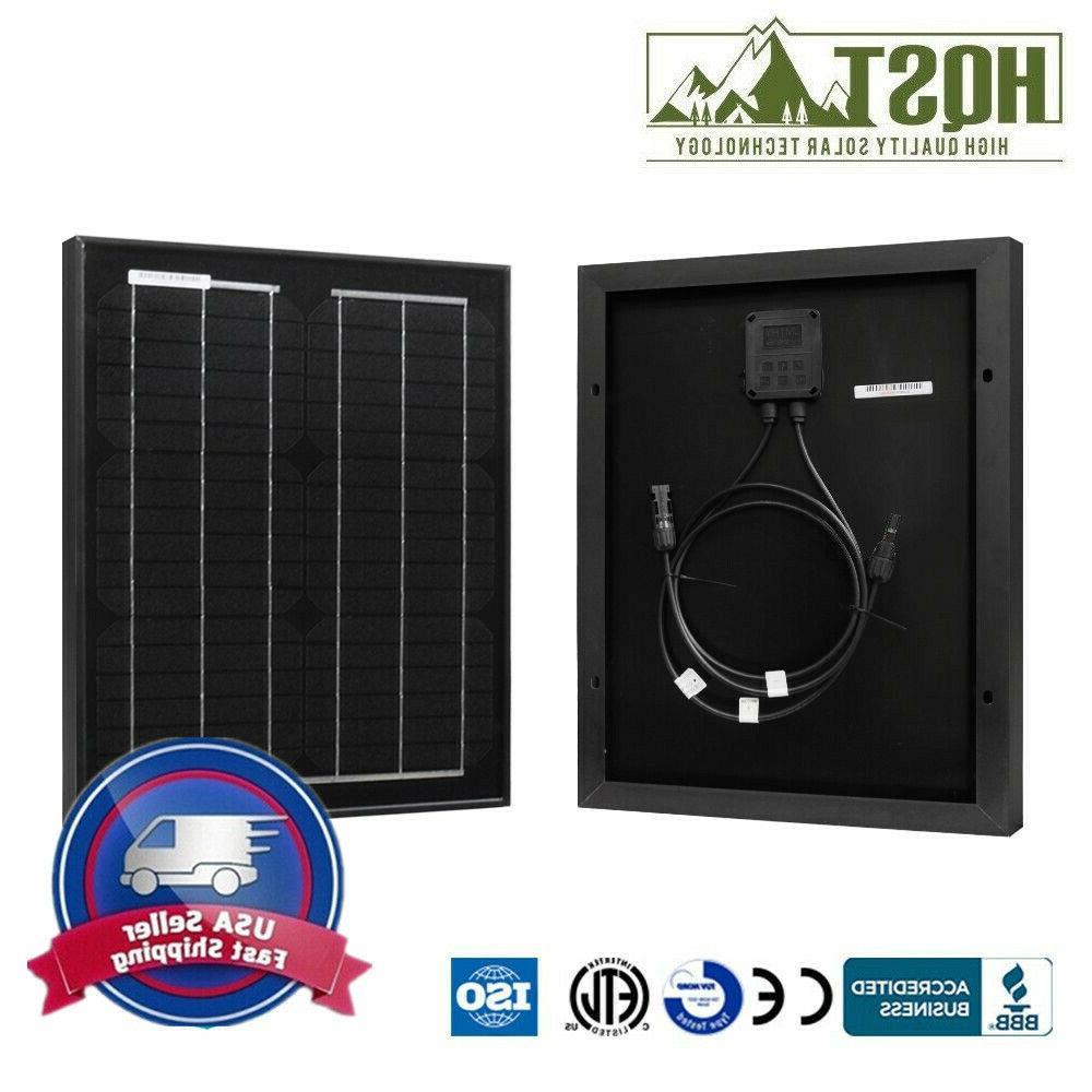 20w watt mono solar panel 12v volt