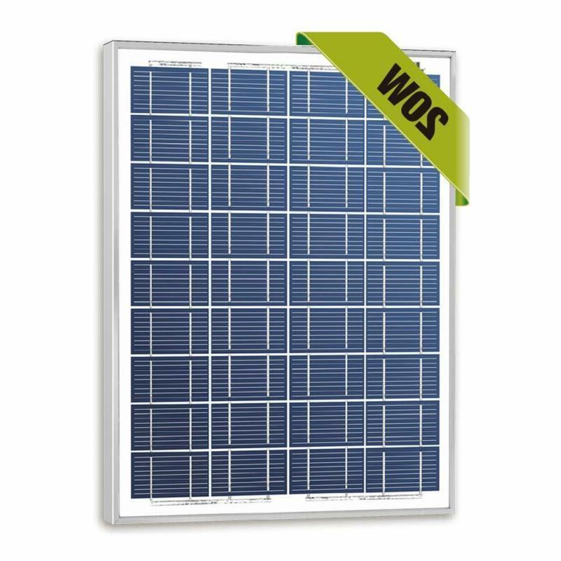 20w watts 12v poly solar panel module