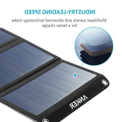 Anker 21W Solar Charger PowerPort for iPhone, More