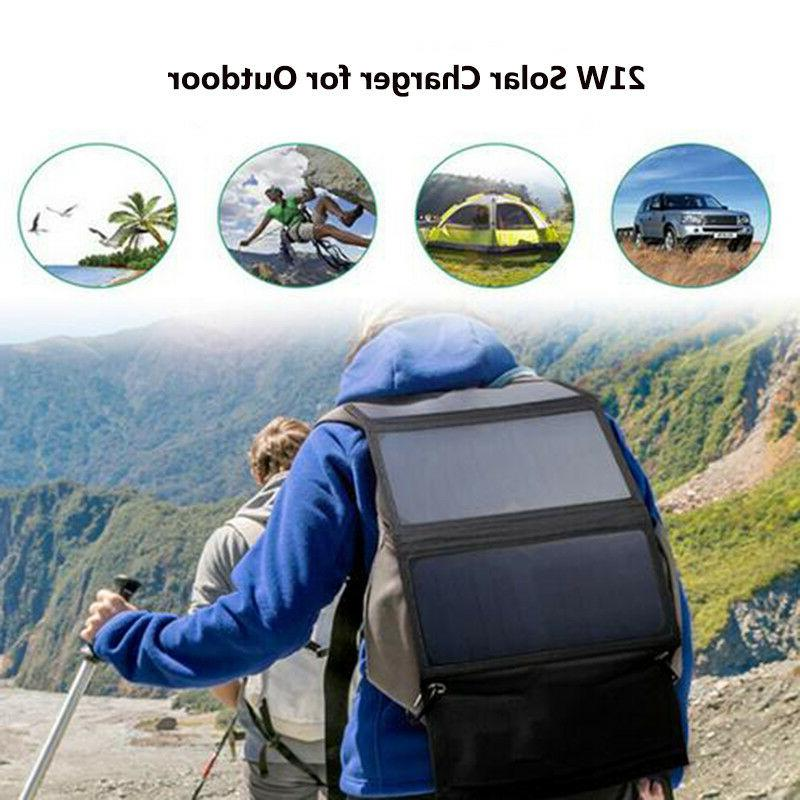 21W Charger Backpack Panel