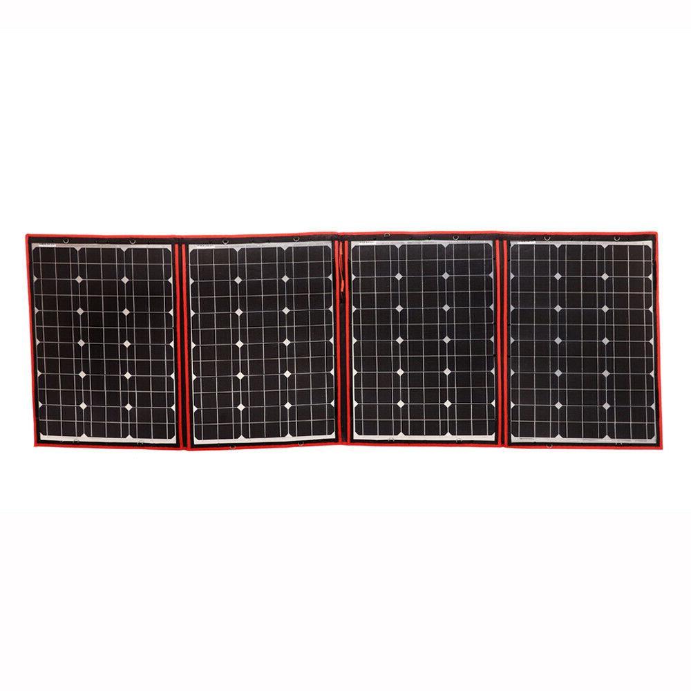 200W Flexible Portable Panel + 12v For Battery