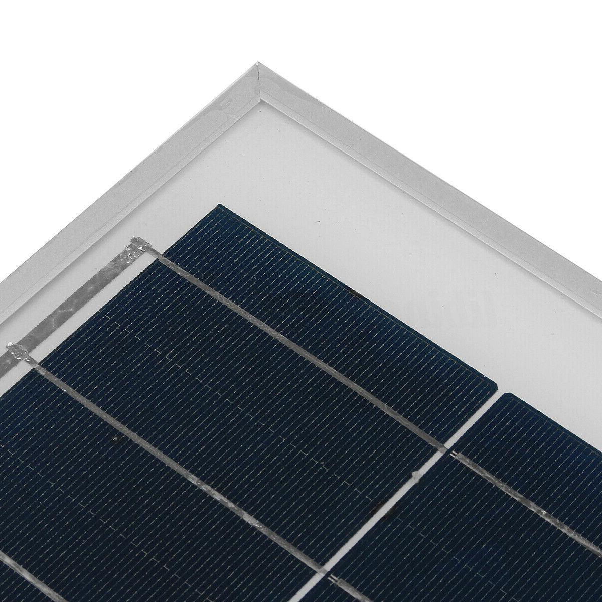 10W 18V Poly Solar Panel Boat