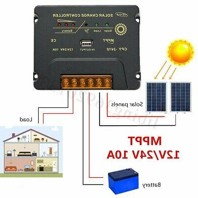 Solar Poly Panel Battery 12V