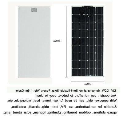 10W -70W 18V Solar Poly Battery For Boat RV