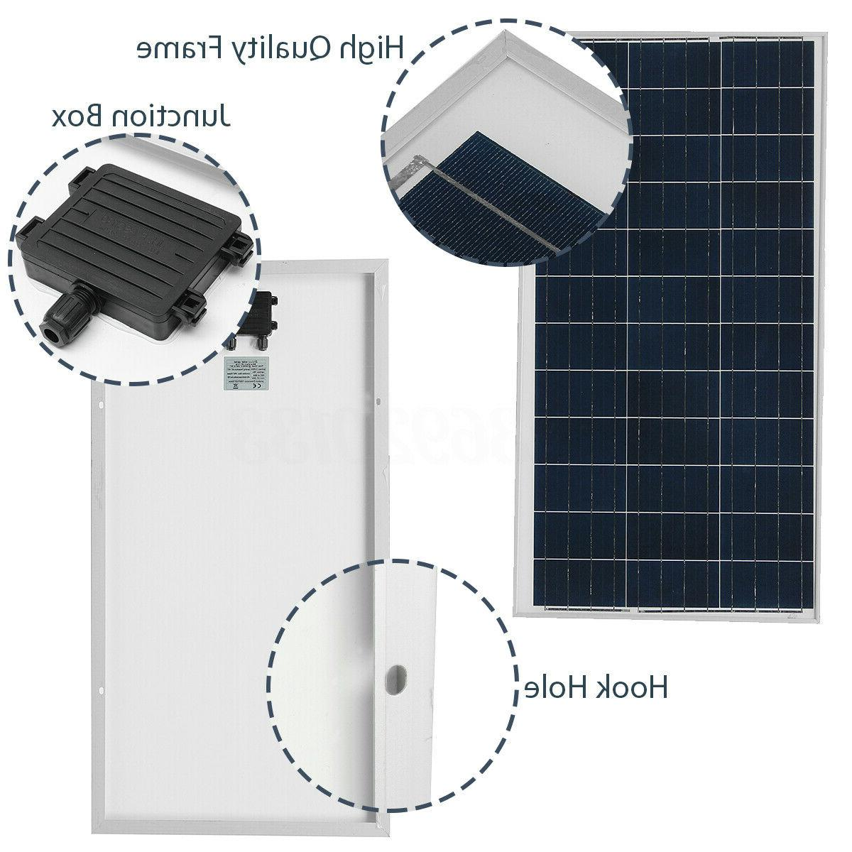 10W 18V Poly Solar Panel Poly Panel Battery Car Boat