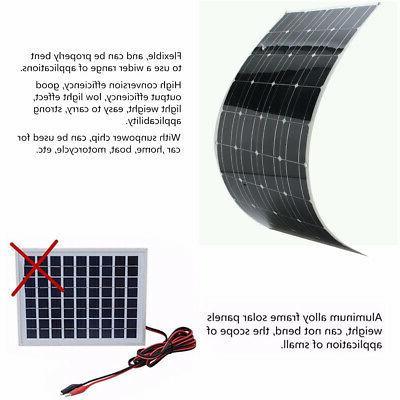 10W 18V Solar Battery For 12V Boat