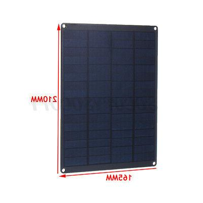 25W Panel Charger Boat Travel Camping