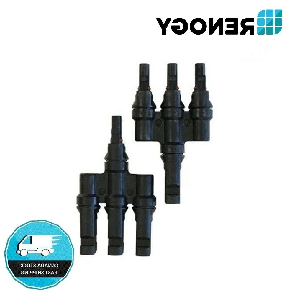 3 to 1 mc4 y branch connectors