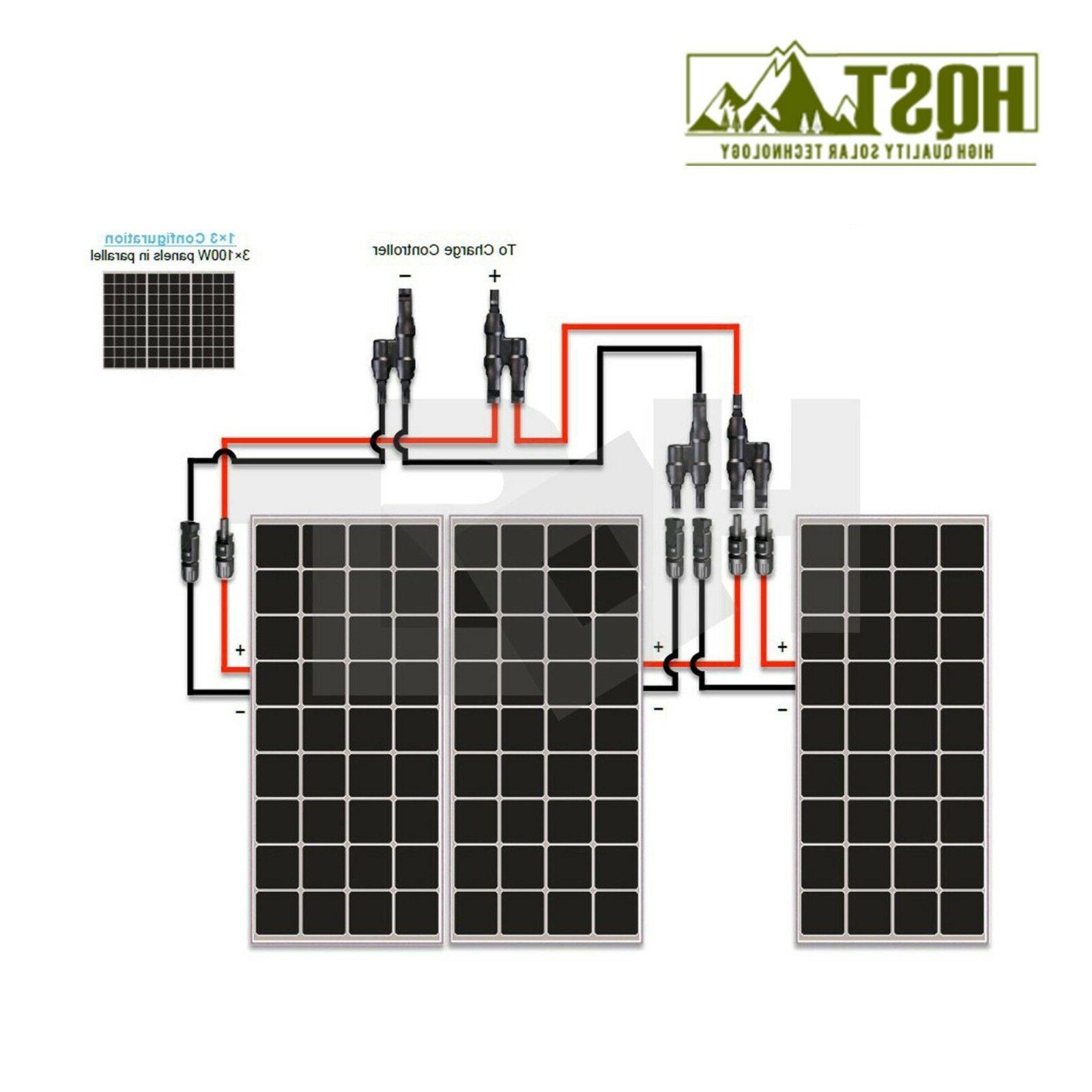 300 Watt Panel Kit 300W 12V Off Grid Cabin