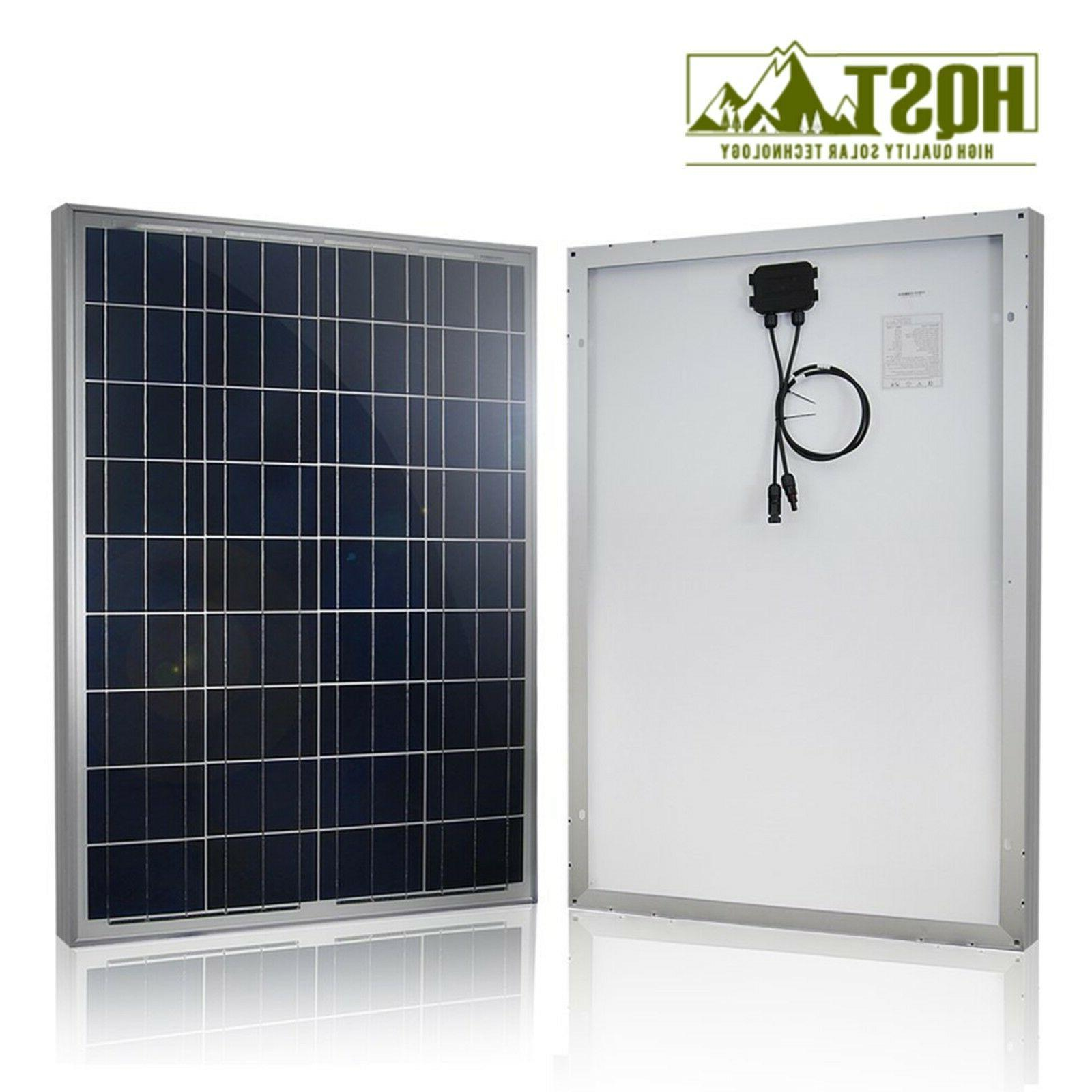 100W 12V Solar Basic Kit Off Home Boat