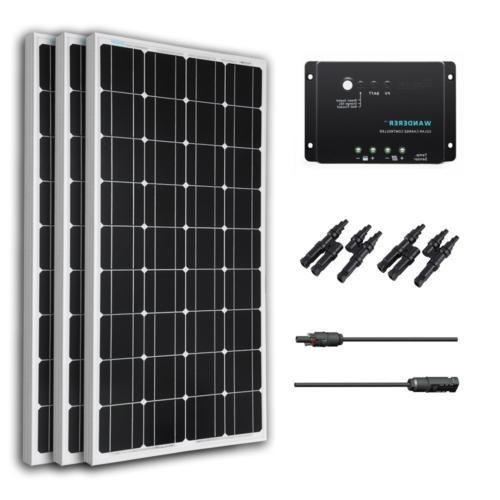 300 watt 12 volt monocrystalline solar bundle