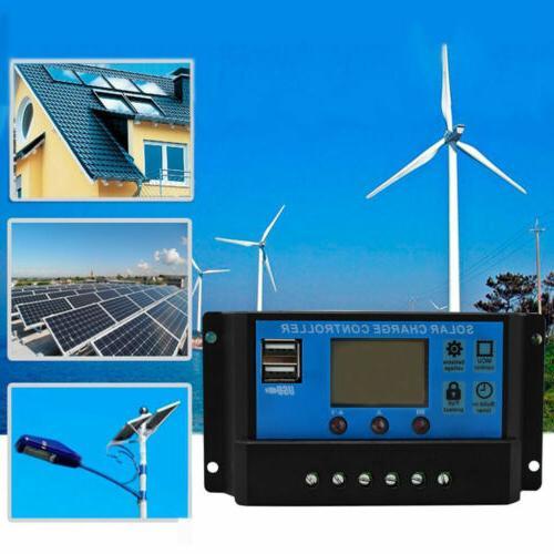30A 20A Panel Battery Regulator