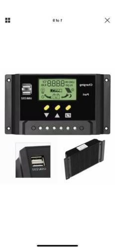 ALLPOWERS 30A Solar Charger Controller 12V/24V Solar Panel B
