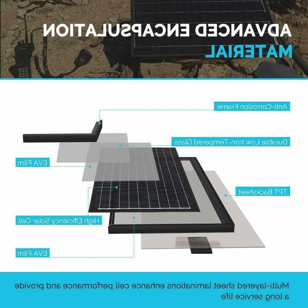 Renogy Solar Panel Panels Grid Monocrystalline