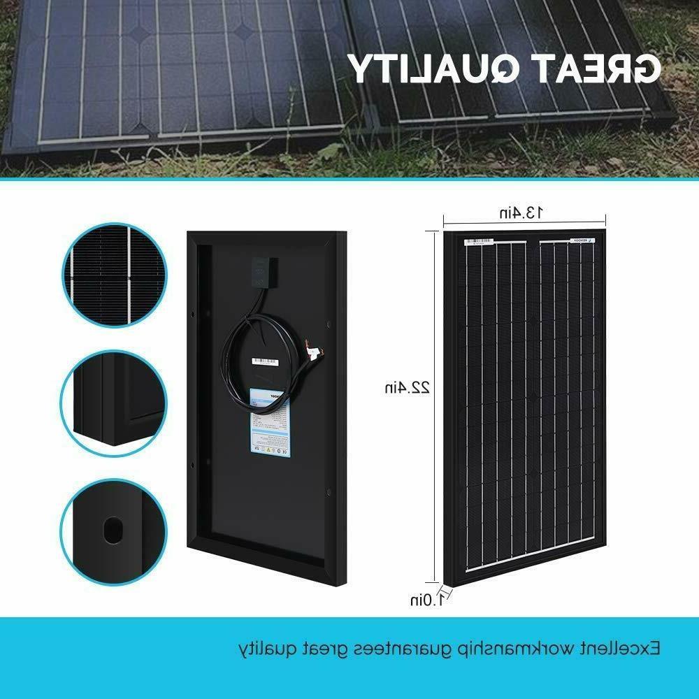 Renogy 30W Solar 12V Panels Grid Monocrystalline