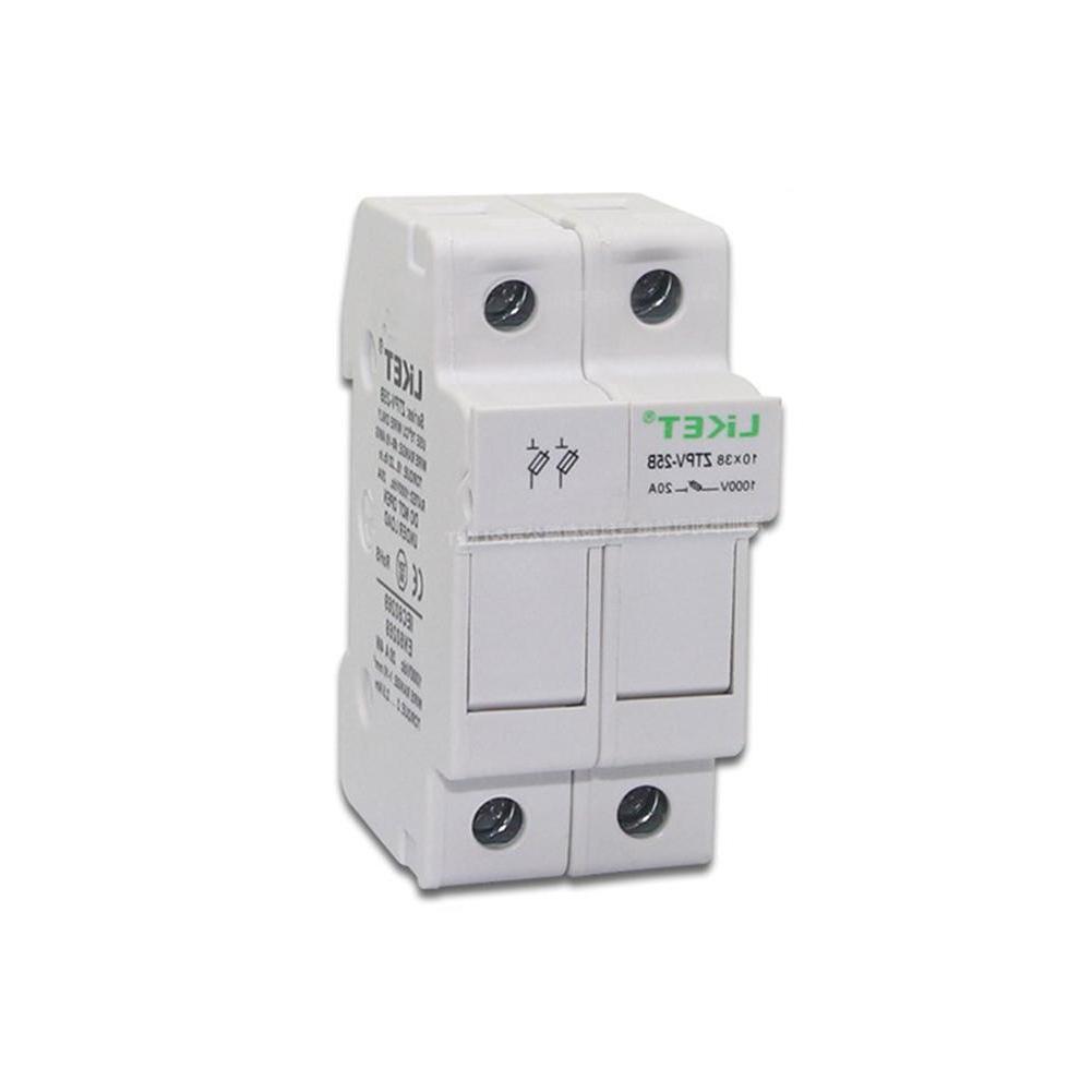 32A DC <font><b>Panel</b></font> Rail Photovoltaic Base Fuse Component
