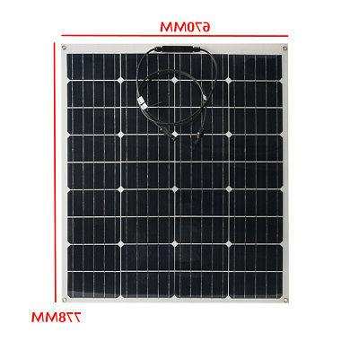 340W/240W 18V Monocrystalline Solar Panel Boat