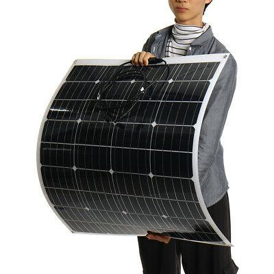 340W/240W 18V Monocrystalline Solar Connector Boat Camping