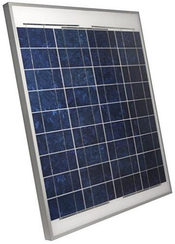 38006 coleman crystalline solar panel