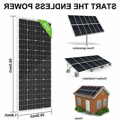 Tie Solar Panel :195W Monocrystalline Factory