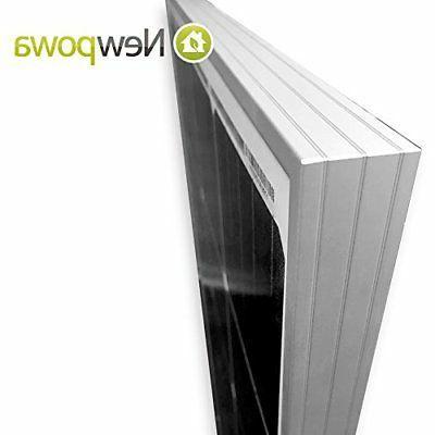 Newpowa 2-100W Monocrystalline Solar Boat