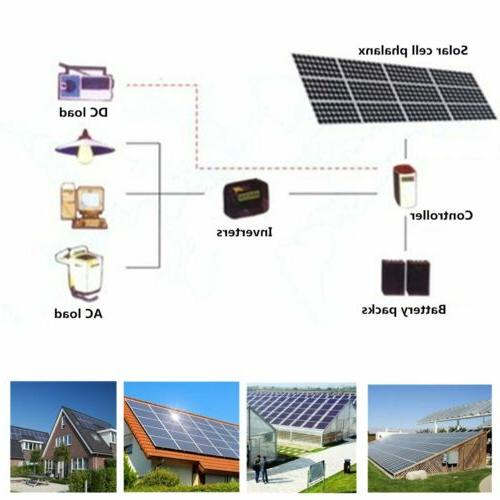 Flexible Panel 12V 120W Solar Charger