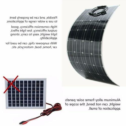 Flexible 18V 100W Solar Charger Power