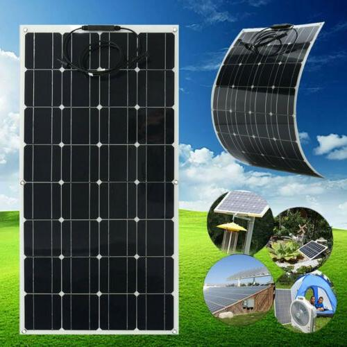 Flexible Solar Panel 100W Solar Charger Power Supply BE