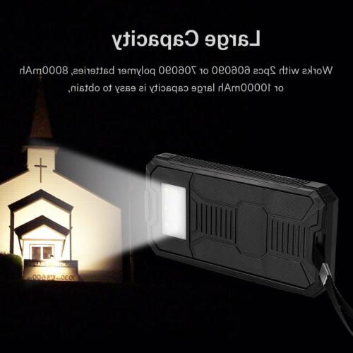 4 Solar Power Battery Charger Case