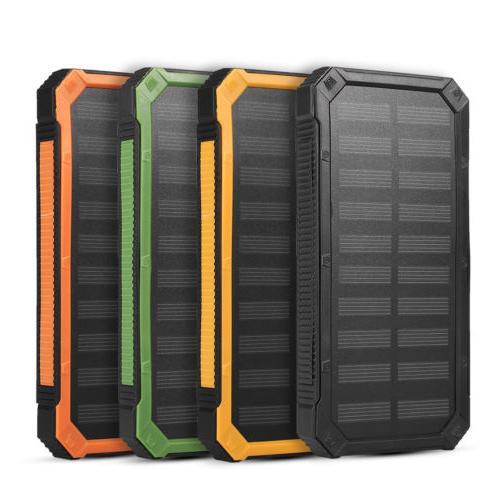 4 Colors Solar Power Battery