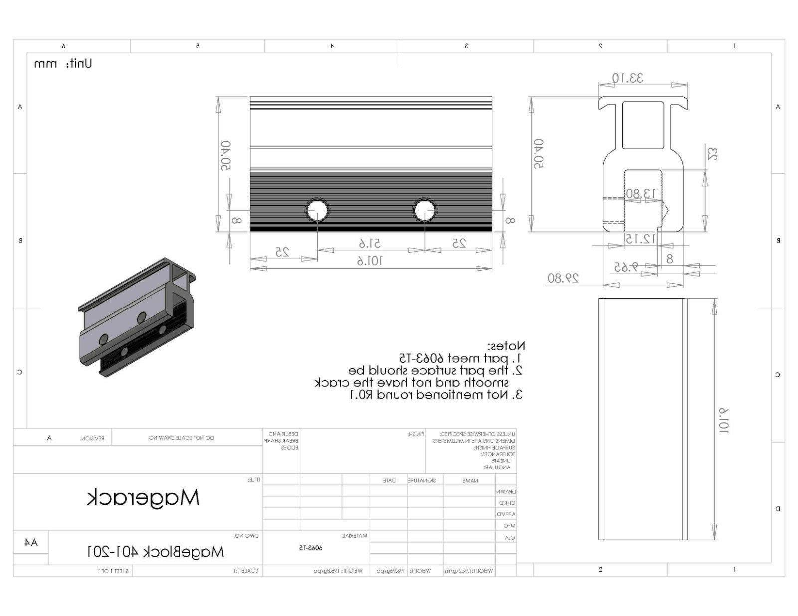 4 End Standing Seam Panel Module Mounting Kits