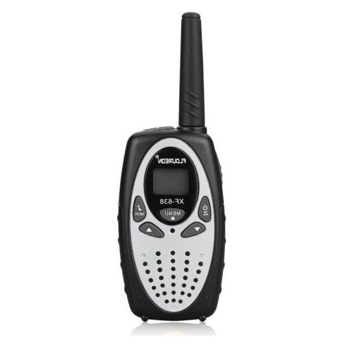 4 Pack Talkies UHF462-467MHz Way Radio 3KM Interphone GMRS