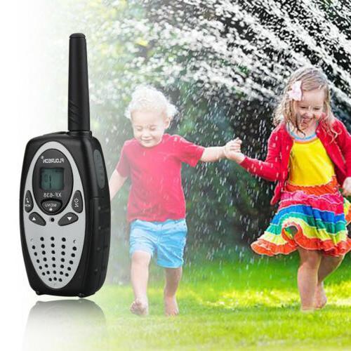 4 Talkies UHF462-467MHz Way Radio 3KM Interphone FRS