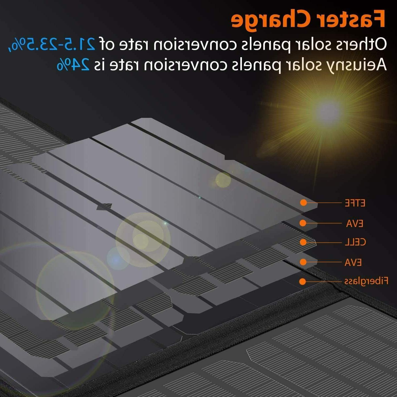 4 Panel Foldable 60W Portable Suaoki/Jackery/Webetop