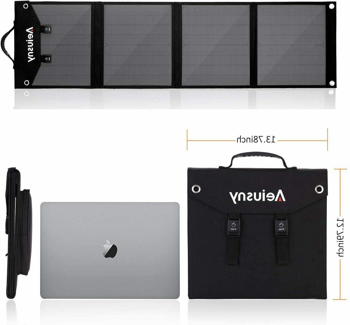 4 Panel 60W Portable Suaoki/Jackery/Webetop Portable