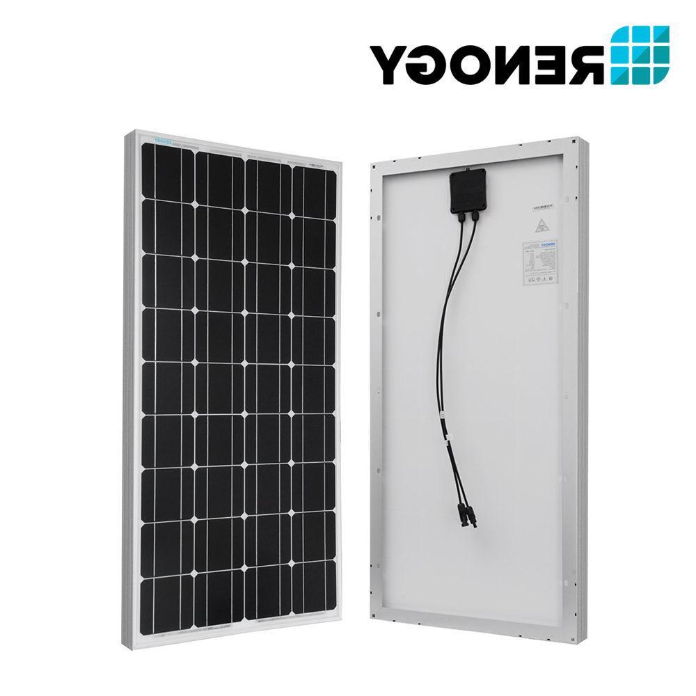 Renogy 400W 12V Solar Bundle Off Grid Charging Home